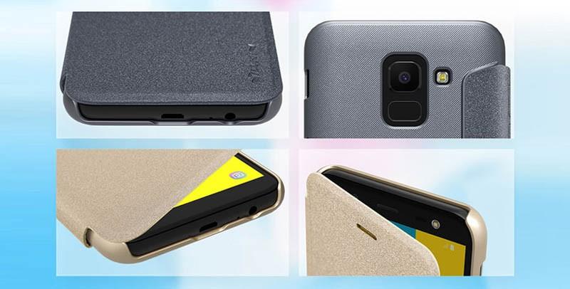 کیف نیلکین سامسونگ Nillkin Sparkle Case Samsung Galaxy J6