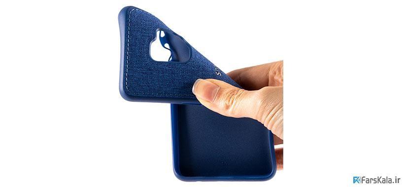 قاب محافظ طرح پارچه ای Protective Cover Samsung Galaxy S9