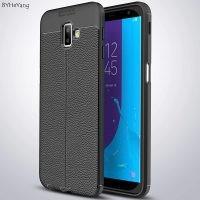 قاب ژله ای طرح چرم سامسونگ Auto Focus Jelly Case Samsung Galaxy J6 Plus