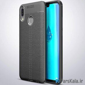 قاب ژله ای طرح چرم هواوی Auto Focus Jelly Case Huawei Y9 2019 / Enjoy 9 Plus