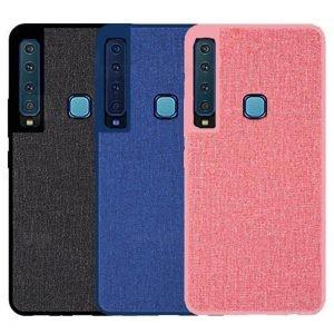 قاب محافظ طرح پارچه ای سامسونگ Protective Cover Samsung Galaxy A9 2018 / A9s / A9 Star