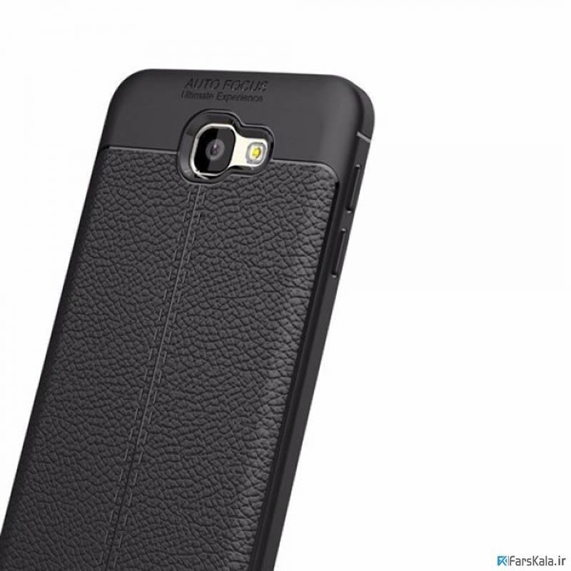قاب ژله ای طرح چرم سامسونگ Auto Focus Jelly Case Samsung Galaxy J7 Prime 2