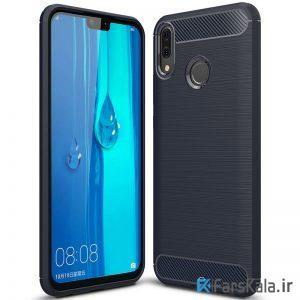قاب محافظ ژله ای هوآوی Carbon Fibre Case Huawei Y9 2019 / Enjoy 9 Plus