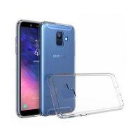 محافظ شیشه ای - ژله ای Transparent Cover برای Samsung Galaxy A6 2018