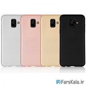 قاب محافظ ژله ای سامسونگ Haimen برای Samsung Galaxy A6 2018