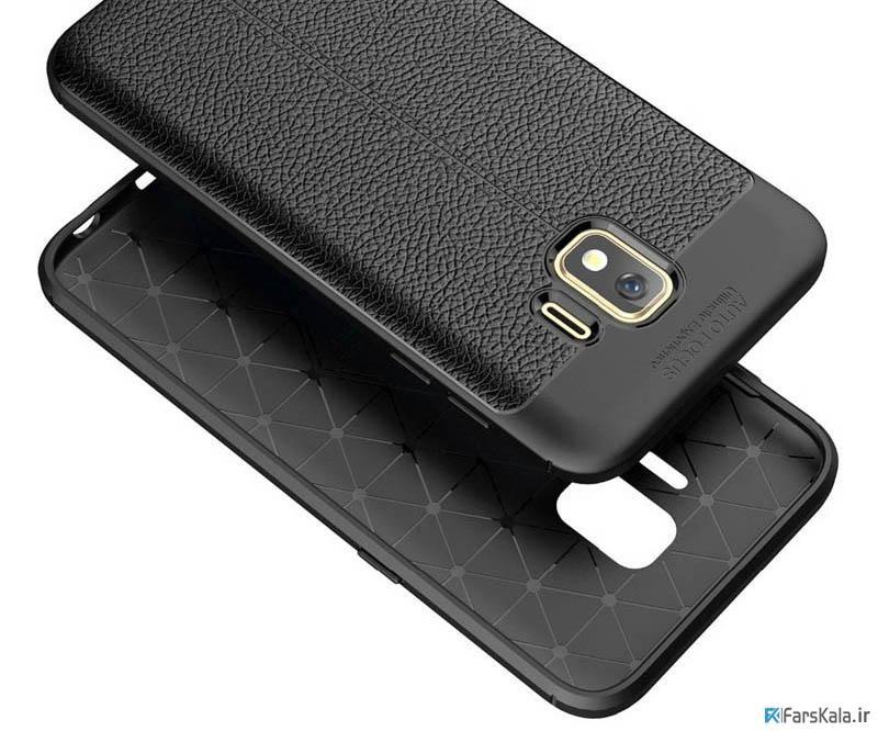 قاب ژله ای طرح چرم سامسونگ Auto Focus Jelly Case Samsung Galaxy J2 Core 2018