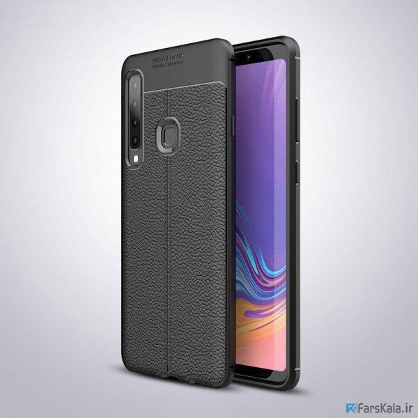 قاب ژله ای طرح چرم سامسونگ Auto Focus Jelly Case Samsung Galaxy A9s, A9 Star Pro, A9 2018