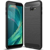قاب محافظ ژله ای سامسونگ Carbon Fibre Case Samsung Galaxy J4 Plus