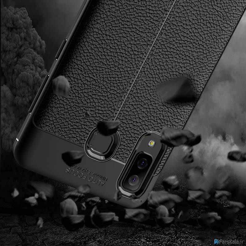قاب ژله ای طرح چرم سامسونگ Auto Focus Jelly Case Samsung Galaxy A8 Star / A9 Star
