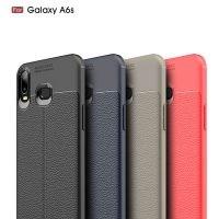 قاب ژله ای طرح چرم سامسونگ Auto Focus Jelly Case Samsung Galaxy A6s