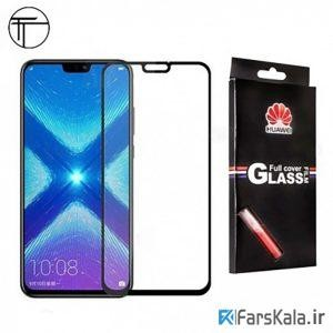 گلس تمام چسب با پوشش کامل هوآوی Huawei Y9 2019 / Enjoy 9 Plus