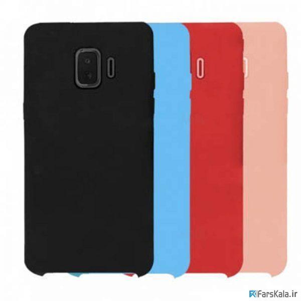 قاب محافظ سیلیکونی سامسونگ Silicone Cover Samsung Galaxy J2 Core 2018