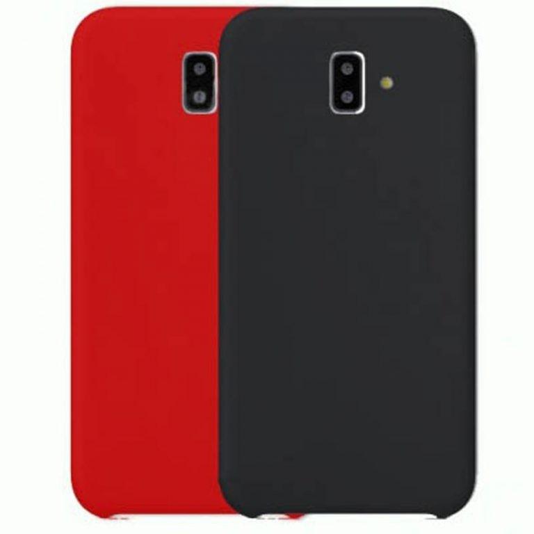 قاب محافظ سیلیکونی سامسونگ Silicone Cover Samsung Galaxy J6 Plus