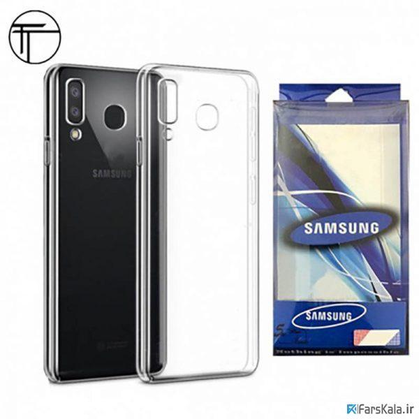 محافظ شیشه ای - ژله ای Transparent Cover برای Samsung Galaxy A8 Star / A9 Star