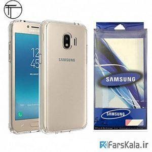 محافظ شیشه ای - ژله ای Transparent Cover برای Samsung Galaxy J2 Core 2018
