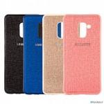 قاب محافظ طرح پارچه ای سامسونگ Protective Cover Samsung Galaxy A6 plus 2018