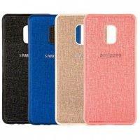 قاب محافظ طرح پارچه ای سامسونگ Protective Cover Samsung Galaxy J7 2018