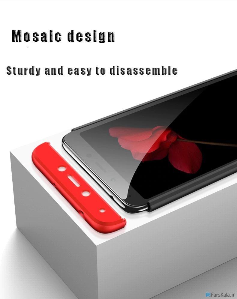 قاب محافظ با پوشش 360 درجه Xiaomi Redmi 6A Color Full Cover