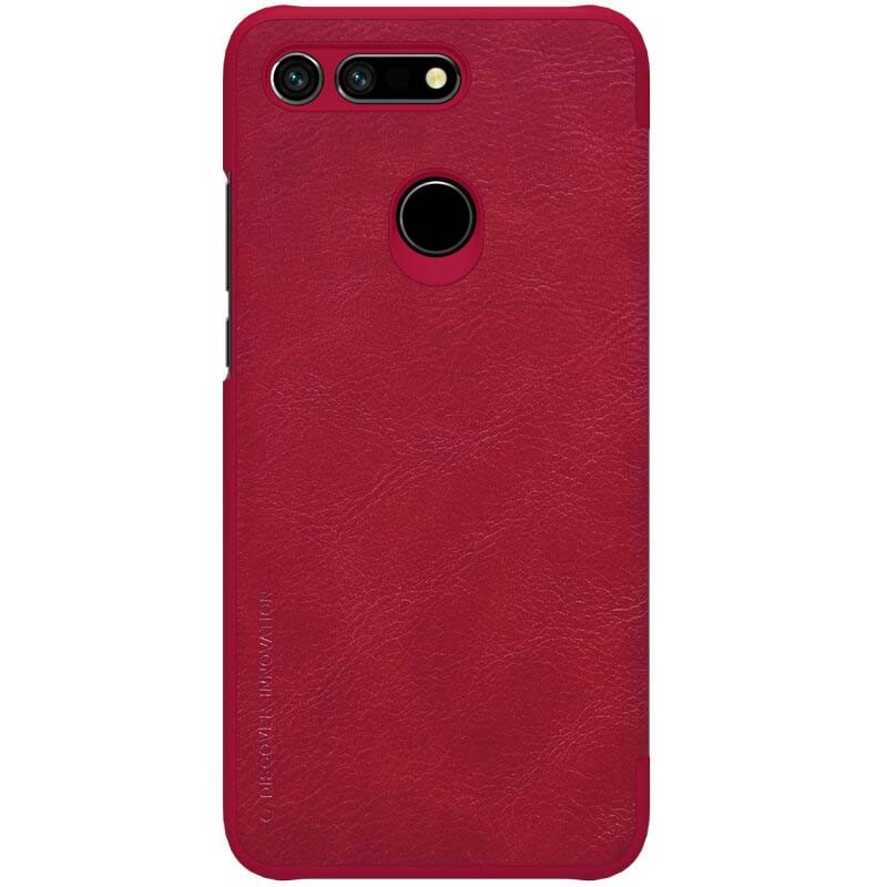 کیف چرمی نیلکین Nillkin Qin Leather Case Huawei Honor View 20