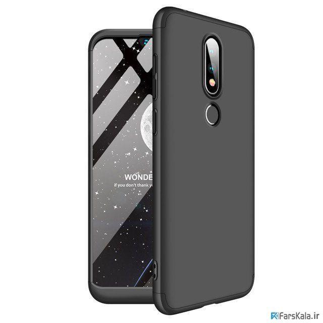 قاب محافظ با پوشش 360 درجه Nokia X6 Color Full Cover