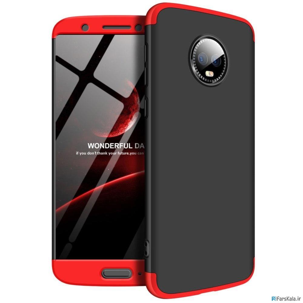 قاب محافظ با پوشش 360 درجه Motorola Moto G6 Color Full Cover