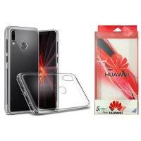 قاب محافظ شیشه ای- ژله ای برای Huawei Honor Play