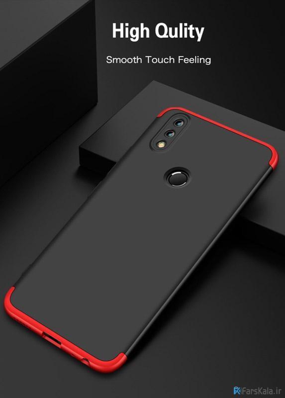 قاب محافظ با پوشش 360 درجه Huawei Honor 8X Color Full Cover