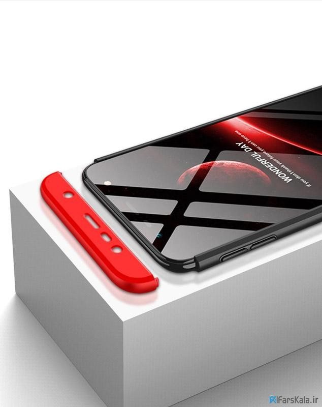 قاب محافظ با پوشش 360 درجه Samsung Galaxy J6 PLUS Color Full Cover