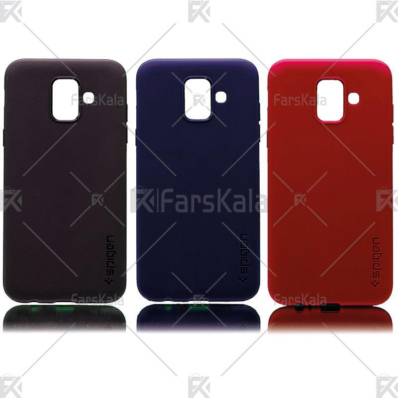 قاب سیلیکونی اسپیگن سامسونگ Samsung Galaxy A6 2018
