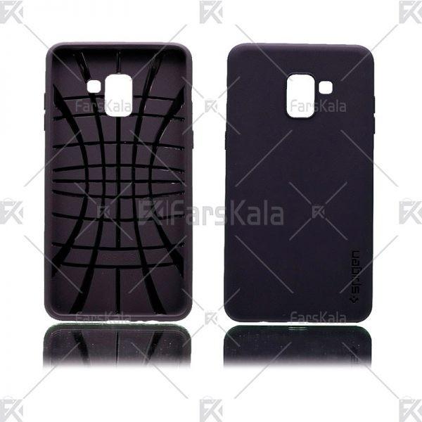 قاب سیلیکونی اسپیگن سامسونگ Samsung Galaxy A8 Plus 2018