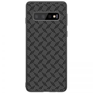 قاب محافظ نیلکین سامسونگ Nillkin Synthetic fiber Plaid برای Samsung Galaxy S10
