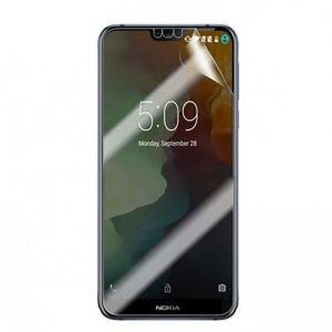 برچسب محافظ صفحه نمایش با پوشش کامل تمام چسب Nokia 7.1 2018