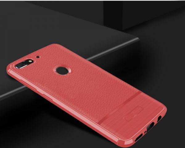 قاب ژله ای طرح چرم اچ تی سی Becation Ruged Armor Soft Case HTC Desire 12 Plus