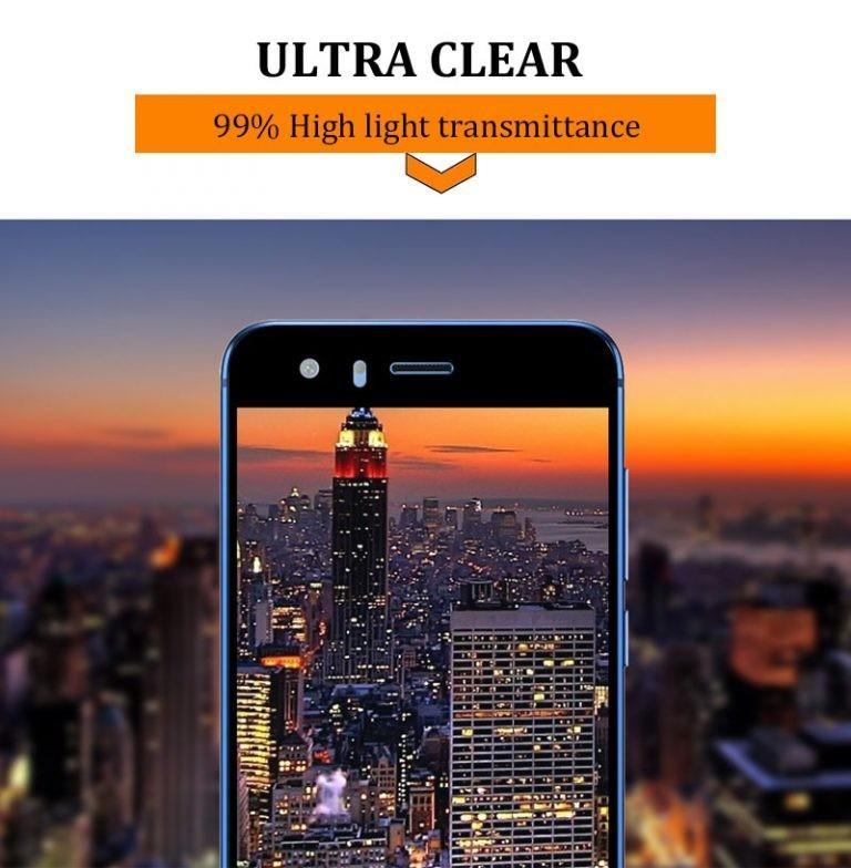 محافظ صفحه نمایش تمام چسب با پوشش کامل هواوی Huawei Honor 9