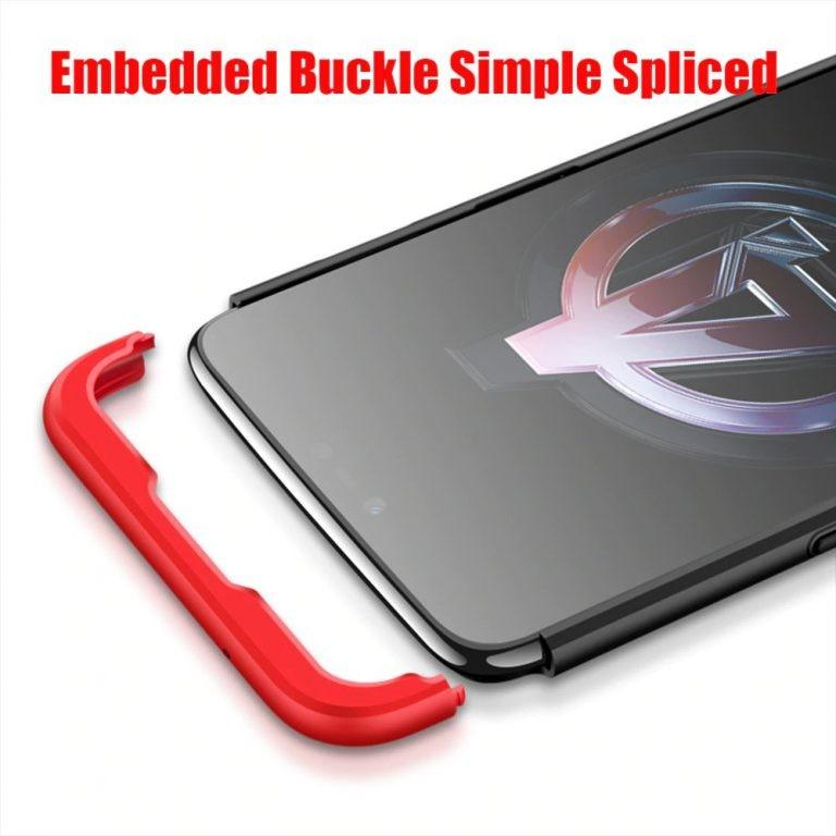 قاب محافظ با پوشش 360 درجه وان پلاس Oneplus 6 Color Full Cover