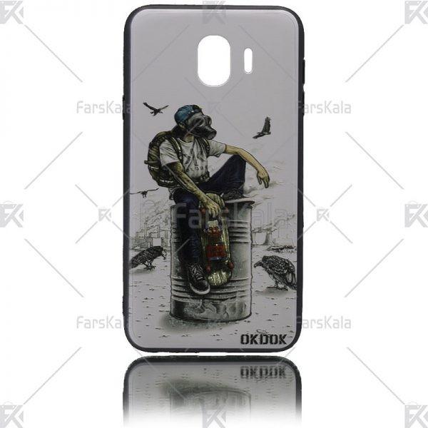 قاب محافظ طرح دار سامسونگ Patterned protective frame Samsung Galaxy J4