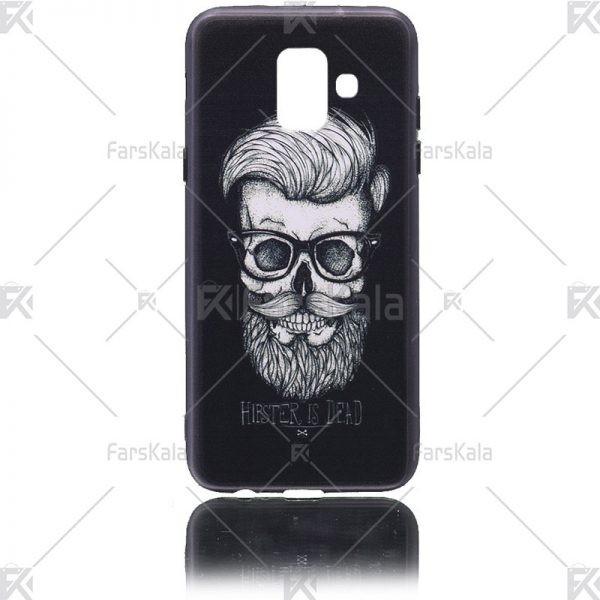 قاب محافظ طرح دار سامسونگ Samsung Galaxy A6 2018
