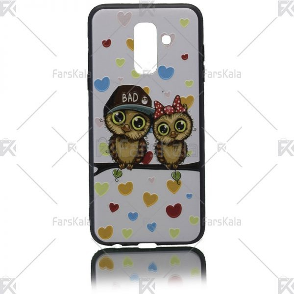قاب محافظ طرح دار سامسونگ Patterned protective frame Samsung Galaxy A6 plus 2018