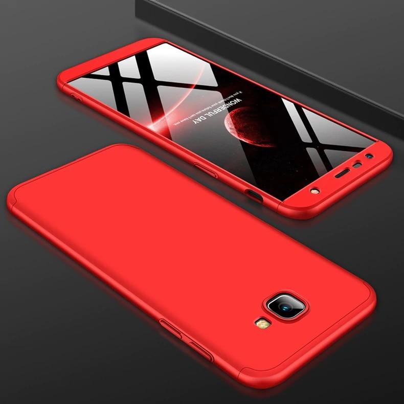 قاب محافظ با پوشش 360 درجه Samsung Galaxy J4 PLUS Color Full Cover