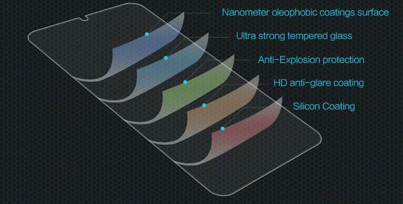 محافظ صفحه نمایش شیشه ای نیلکین Nillkin H Glass Samsung Galaxy M10