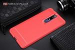 قاب محافظ ژله ای نوکیا Carbon Fibre Case Nokia 3.1 Plus / Nokia X3