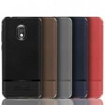قاب ژله ای طرح چرم نوکیا Becation Ruged Armor Soft Case Nokia 2.1