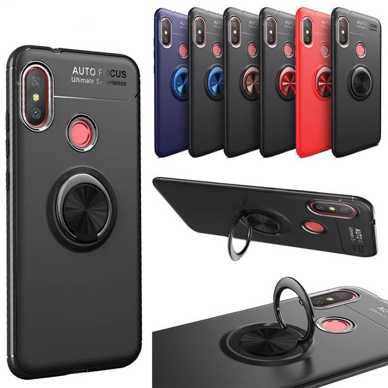 قاب محافظ ژله ای Magnetic Ring Case Xiaomi Mi A2 Lite / Redmi 6 Pro