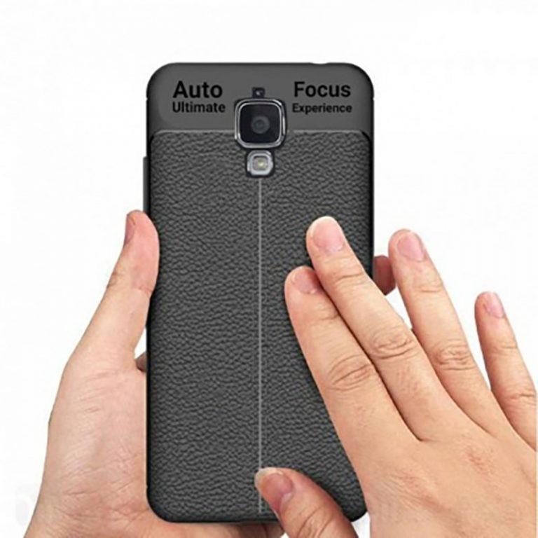قاب ژله ای طرح چرم Auto Focus Jelly Case Xiaomi Mi 4