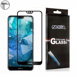 محافظ صفحه نمایش تمام چسب با پوشش کامل Nokia 7.1 2018