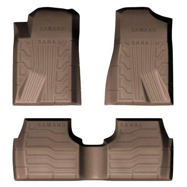 کفپوش سه بعدی سانا برای خودرو سمند