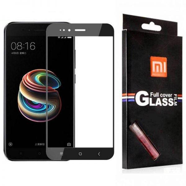 محافظ صفحه نمایش تمام چسب با پوشش کامل Glass Screen Protector For Xiaomi Mi A1 / Mi 5X