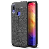 قاب ژله ای طرح چرم Auto Focus Jelly Case For Xiaomi Redmi Note 7