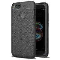 قاب ژله ای طرح چرم Auto Focus Jelly Case For Xiaomi Mi A1 / Mi 5X