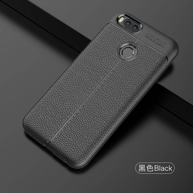 قاب ژله ای طرح چرم Auto Focus Jelly Case For Xiaomi Mi A1 / Mi 5X